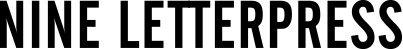 nine-letterpress